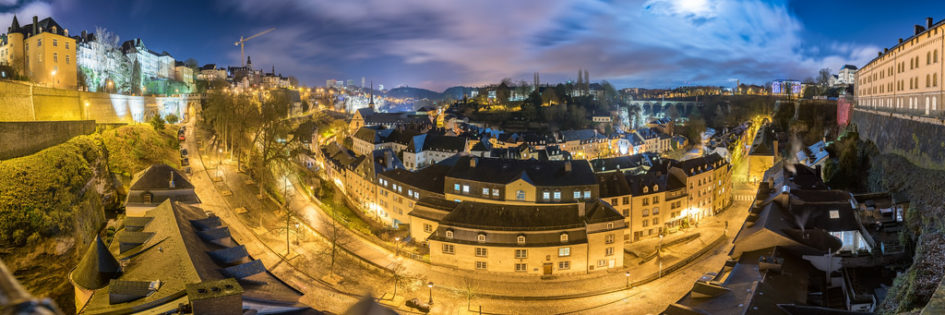 Photo de Luxembourg la nuit